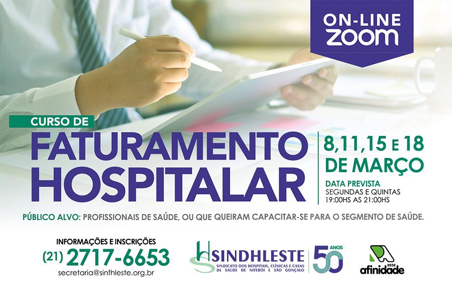 Curso Online de Faturamento Hospitalar